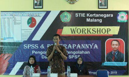 Workshop SPSS dan Penerapannya di STIE Kertanegara Malang